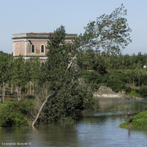 Ambiente e pesca sul fiume Oglio.