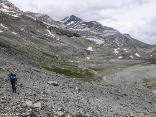 Avvicinamento al monte Perdido
