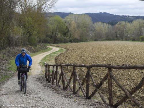 Ciclabile Alta val Tiberina tratto Città di Castello - Umbertide