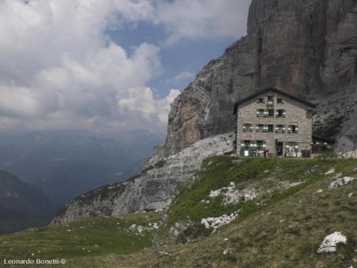 Il rifugio Brentei