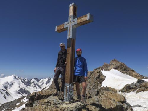 Croce di cima sul Monte Vioz 3645m