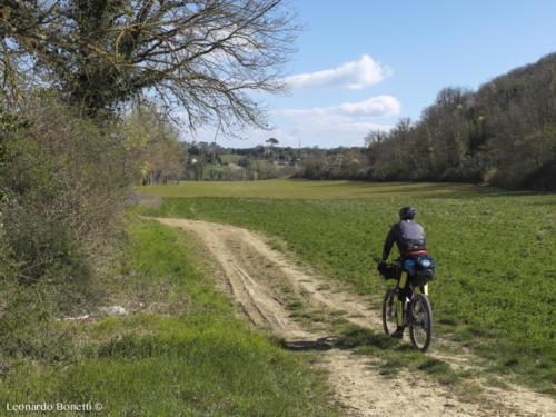 La campagna Perugina in bici