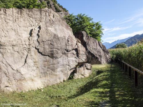 La storia antica della val Camonica.