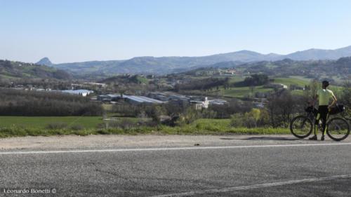 La val Marecchia in bicicletta