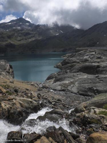 Lago del Careser e torrenti glaciali