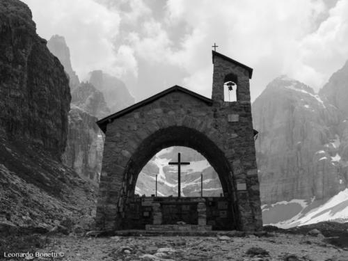 Luoghi di preghiera sulle dolomiti di Brenta