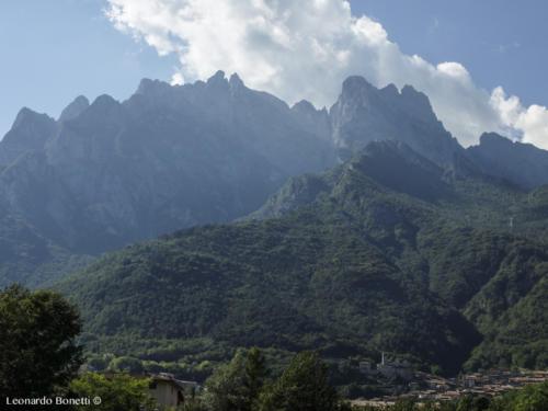 Monte Concarena in val Camonica.