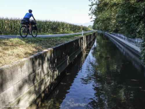 Non solo fiumi sulla ciclovia dell'Oglio.