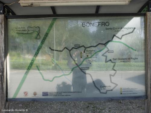Pannello illustrativo sul tratturo Celano - Foggia