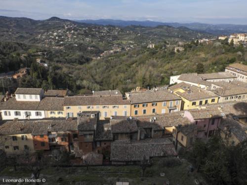 Perugia fuori le mura - punto panoramico