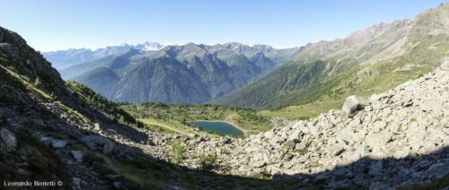 Salita al monte Vioz e prime panoramiche