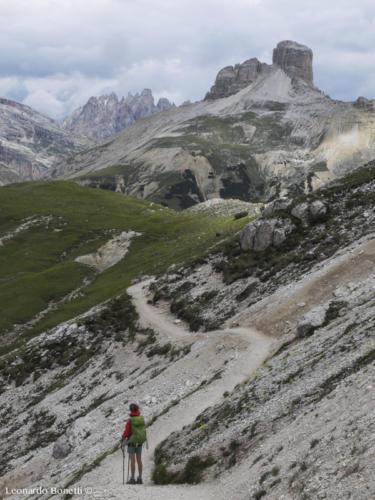 Sentiero 105 dal Col di Mezzo al rifugio Locatelli
