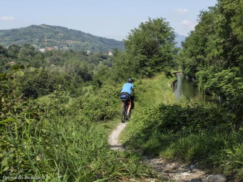 Sentiero verde del fiume Oglio.