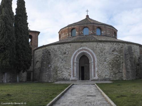 Tempio di Sant'Angelo a Perugia. Chiesa Paleocristiana