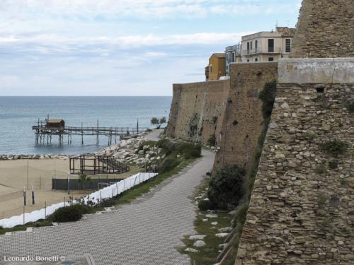 Termoli - Mura di cinta della città antica