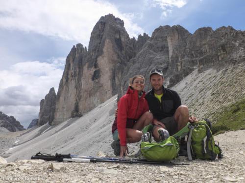 Trekking Lavaredo. Giro classico delle Tre Cime di Lavaredo.Versante nord